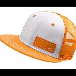 Nike Big Kids Vivid Orange/White Snapback Hat